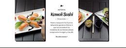 Landing Restaurante Sushi
